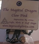 The Magical Drgaon Claw - Pink
