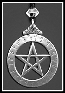 The Witch's Runes Pentacle