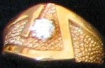 Cubic Zircon Ring #18