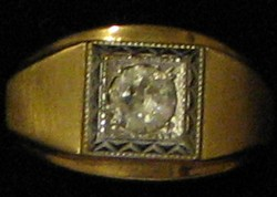 Cubic Zircon Ring #20 Size 10 1/2
