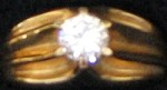 Cubic Zircon Ring #22 Size 9