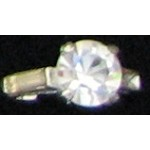 Cubic Zircon Ring #39 Size 7